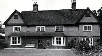 The front of Manor Farmhouse in 1962 [Z53-134-2]